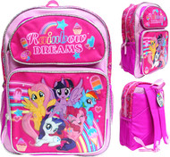 "Backpack My Little Pony Rainbow Dreams 16"" 202488-2"