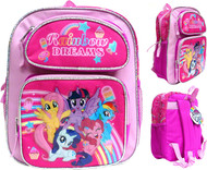 "Small Backpack My Little Pony Rainbow Dreams 12"" 202464-2"