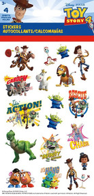 Standard Stickers 4 Sheet Disney Toy Story 4 st4139