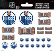 Temporary Tattoos 1 Sheet NHL Edmonton Oilers tt3021