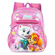 Backpack Paw Patrol Skype/Everest Pink Heart 001281-2
