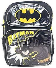 """Backpack DC Comics Batman Logo Black 16"""" 202280"""