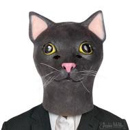 Cosplay Archie McPhee Mask Black Cat 06554