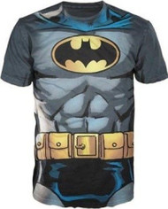 T-Shirt DC Comics Batman Muscle Costume Men Large