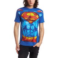T-Shirt DC Comics Superman Muscle Costume Men 2XLarge