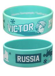 Wristband Yuri On Ice Victor PVC ge54530