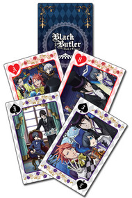 Playing Cards Black Butler: Boc Group ge51630