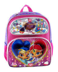 Small Backpack Shimmer and Shine Shiny Pink 009076