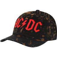 Baseball Cap AC/DC Dad Black Strapback Hat SACJ-100024