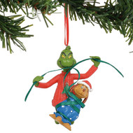 "Ornament Dr. Seuss Grinch Wrapping Max 3.25"" 6011005"