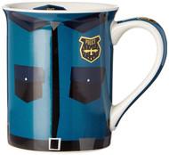 Mug Enesco Police Uniform Coffee Cup 16oz 6002459