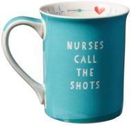 Mug Enesco Nurse Uniform Blue Coffee Cup 16oz 6002457