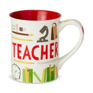 Mug Enesco Teacher Coffee Cup 16oz 6002455