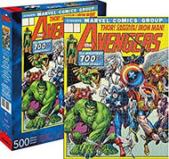 Puzzle Marvel Avengers Cover 500pc 62159