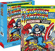 Puzzle Marvel Captain America Cover 500pc 62161