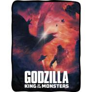 Blanket Godzilla King of The Monsters Throw Fleece cfbf-gdz-batl