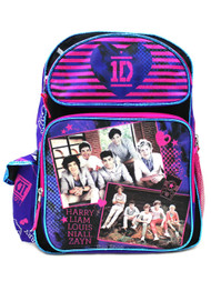 "Backpack One Direction I Love One Direction 16"" 071367 071367"