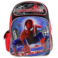 "Backpack Marvel Spiderman Building Background 16"" 612030 612030"