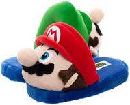 3D Plush Slipper Mario & Luigi Mix n Match X-Large hs72v9smb-xl