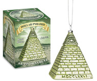 Ornament Archie McPhee Dollar Pyramid  12731
