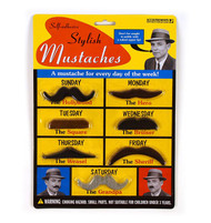 Character Goods Archie McPhee Stylish Mustaches 10484