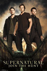 "Poster Studio B Supernatural Group 23""x35"" Wall Art p3509"