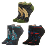 Ankle Sock -DC Comics Aquaman 3 pack xs7ar4aqm
