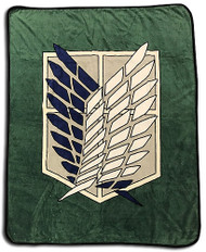 Blanket Attack On Titan Scout Regiment Throw ge57077