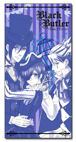 Towel Black Butler: Boc Ciel, Sebastian, And Joker ge58679