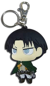 Key Chain Attack On Titan Sd Levi Dedicate Stance PVC ge85397