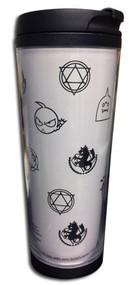 Travel Mug Fullmetal Alchemist Symbol Tumbler ge69909