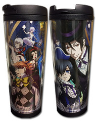 Travel Mug Black Butler: Boc Key Art Tumbler ge69843