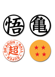Tattoo Dragon Ball Super Temporary Set ge56065
