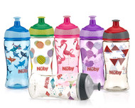 Baby Feeding Nuby Printed Pop Up Sipper 12oz (1 Cup Only) 10543