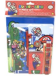 Stationery Set Nintendo Super Mario 11Pcs 043179