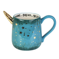Mug Gold Star Unicorn Sculpt Coffee Cup 16oz 6004108