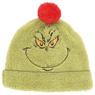 Beanie Cap Grinch Soft Sherpa & Fleece 6006060