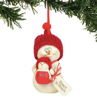 Ornament Snowpinions Heart to Heart 6003281