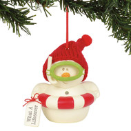 Ornament Snowpinions What A Lifesaver 6003245