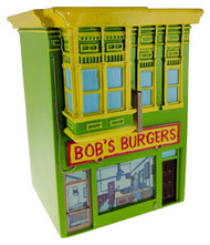 Coin Bank Bob's Burgers Restaurant Piggy Bank cb-bob-rest