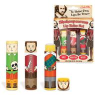 Lip Balm Set Archie McPhee Shakespearean 12509
