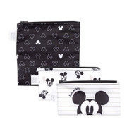 Reusable Snack Bag Small 3 Pack Mickey Mouse Love Mickey SB3-DMK11