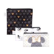 Reusable Snack Bag Small 3 Pack Minnie Mouse Love Minnie SB3-DMN15