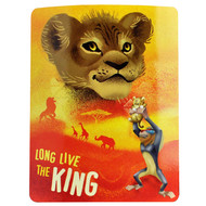 """Blanket The Lion King Long Live The King 50""""x60"""" 133461"""