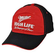 Baseball Cap Miller High Life Champagne of Beers Red/Black SHLZ-89271P