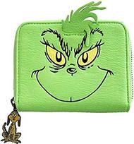 Zip Around Wallet The Grinch Grinch Face Cosplay dsswa0004