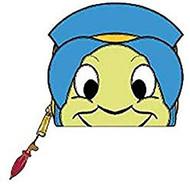 Wallet Pinocchio Jiminy Cricket Cosplay wdwa1140