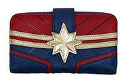 Wallet Marvel Captain Marvel Debossed Suit mvwa0099
