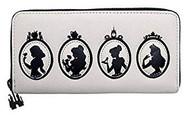 Wallet Disney Princess Silhouette Quilted wdwa1117
