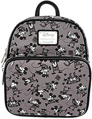 Mini Backpack Mickey Mouse Plane Crazy wdbk0895